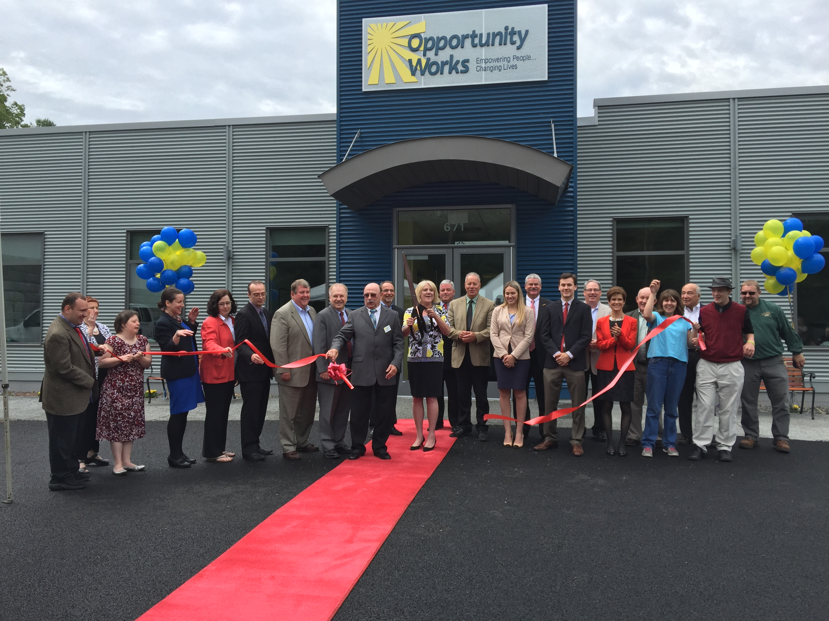 OPPORTUNITY WORKS OPENS STATE-OF-THE-ART FACILITY IN HAVERHILL