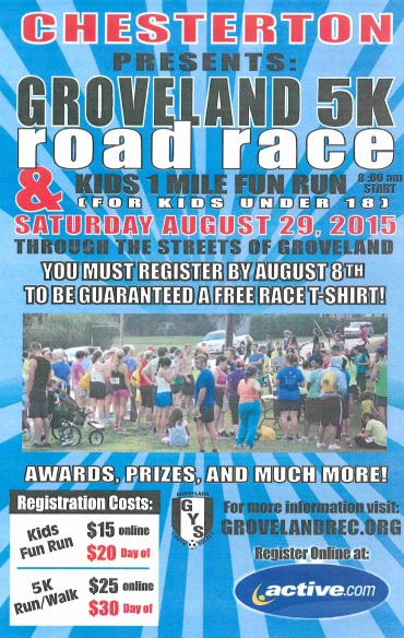 2015 4th Annual Groveland Road Race Sponsored by Chesterton