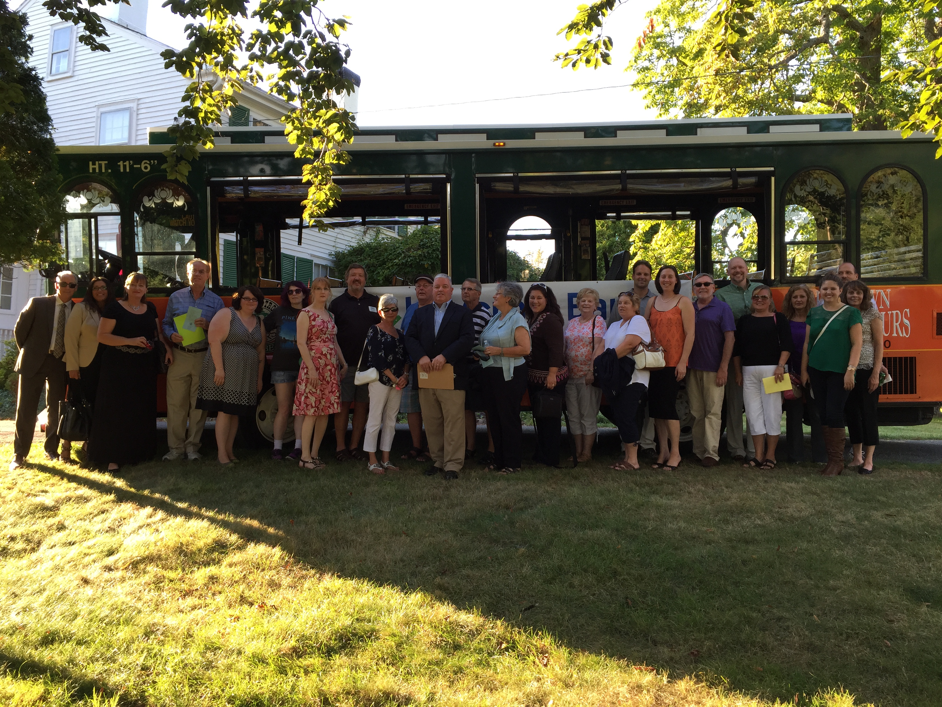 A HUGE SUCCESS – Chamber's Trolley Tour Highlights Haverhill's Cultural Treasures