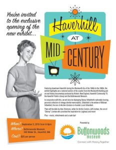 Buttonwoods Mid Century Exhibit