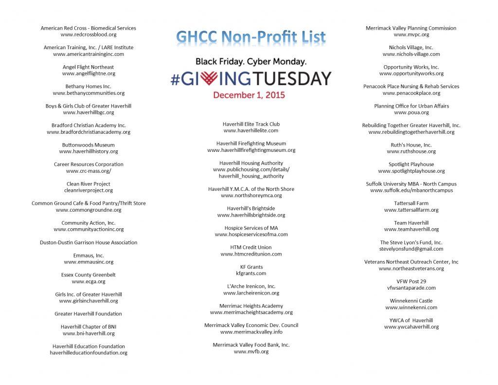 GHCC NP List
