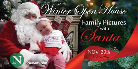 Nunans Florist & Greenhouse hosts Annual Winter Open House
