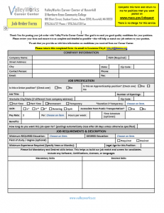 ValleyWorks Form