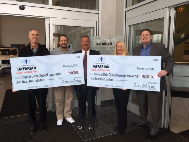 """Jaffarian Volvo Toyota Launches """"Youth in Motion"""" Fund to Help Local Kids Embrace a Healthy, Active Lifestyle"""