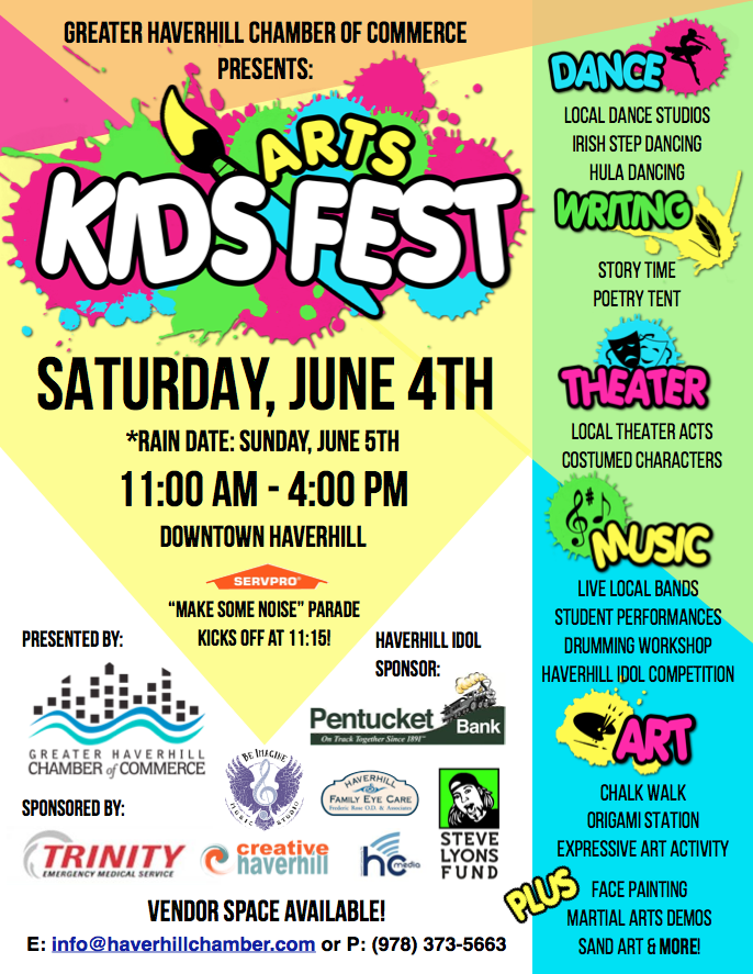 Kids ArtFEST Shaping up to be Bigger and Better than ever!
