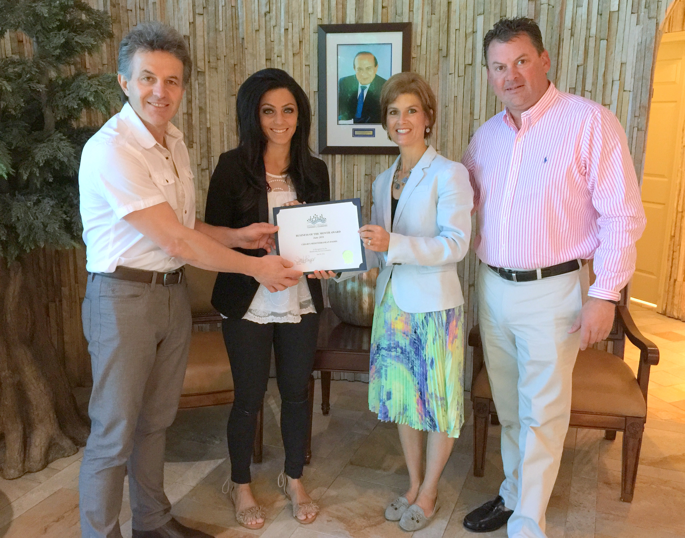Cedars Mediterranean Foods Selected as JUNE BUSINESS OF THE MONTH