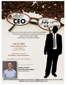 July Coffee - Brad Howell