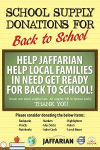 jaffarian school drive